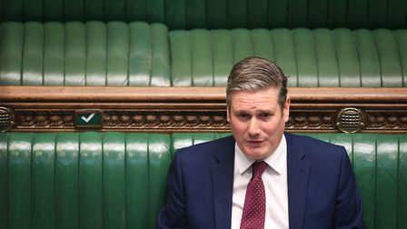 Labour leader Sir Keir Starmer. Picture: UK Parliament/Jessica Taylor