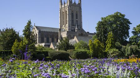 St Edmundsbury Cathedral in Bury St. Edmunds is taking part in a special day of prayer on Sunday Picture: GETTY IMAGES