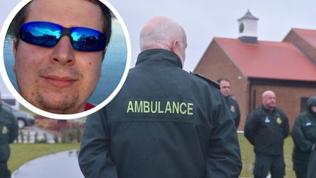 Luke Wright, 24, from Norwich, was one of three ambulance staff to die suddenly in November 2019 Pic