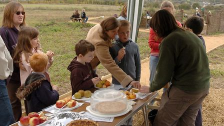 Apple Day at High Woods Country Park, Colchester in 2007 Picture: CLIFFORD HICKS