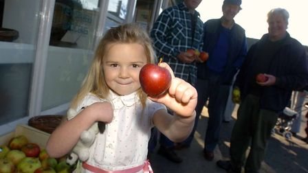 Metfield Stores Apple Day in 2007 Picture: SIMON PARKER/ARCHANT