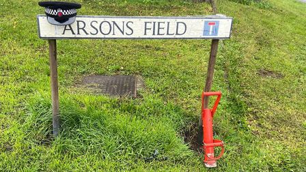 Officers executed a warrant at an address in Parsons Field, Dedham, yesterday after community concer