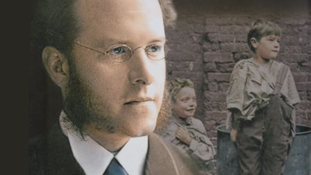 Thomas Barnardo who set up the Ragged School at Mile End in 1877, Picture: Amberly Books