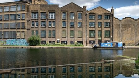 Heritage at risk... Ragged School in converted early Victorian wharf by Regent's Canal. Picture: Mus