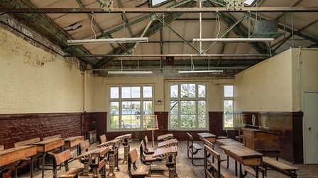 Recontructed Victorian clasroom at the Ragged Museum in Mile End. Picture: Ragged Museum Trust