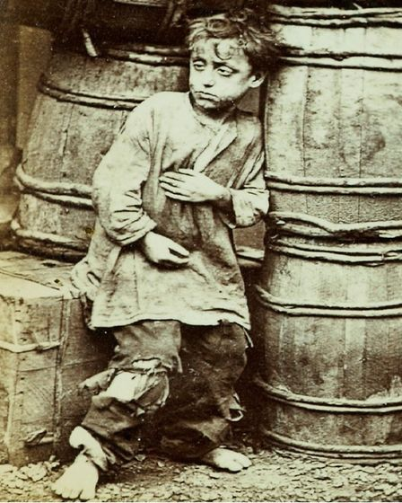Street urchin found by Thomas Barnardo in Whitechapel that led to his orphanage and later a ragged s