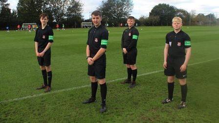 Suffolk FA has formed a new partnership with The Offside Trust to help end abuse against young refer