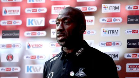 Doncaster Rovers manager Darren Moore. Photo: PA