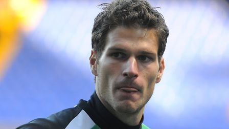 Asmir Begovic, who this week in Town's history signed on loan from Portsmouth, in 2009.