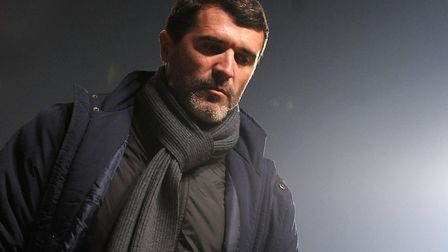 A thoughtful looking Roy Keane, during his days at Portman Road. Picture: ALEX FAIRFULL