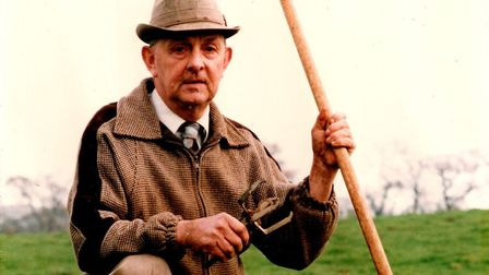 George Utting, known as 'The Molecatcher' in East Anglia, has died at the age of 83. Picture: ARCHANT