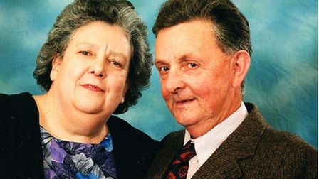 George Utting married Kitty Scripps in 1959 and they spent many happy years together. Picture: UTTING FAMILY