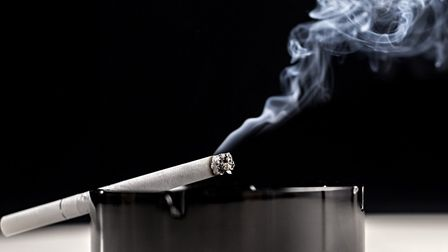 The former soldier will pay £100 in fines and costs for asking passers by for a cigarette Picture: G
