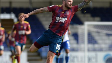 James Norwood in action against Bristol Rovers Picture PAGEPIX LTD
