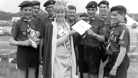 A picture taken at the Hadleigh Show in May 1966 Picture: ARCHANT