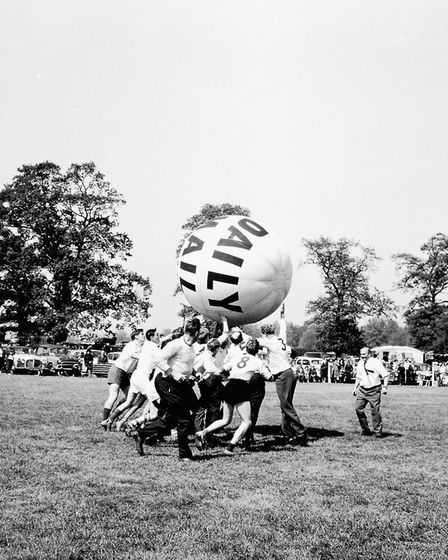 Hadleigh show in May 1965 Picture: ARCHANT