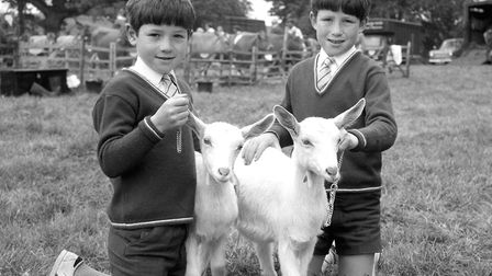Youngsters at the Hadleigh Show in May 1971 Picture: ARCHANT