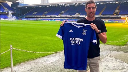 Left back Stephen Ward has signed a one-year deal at Portman Road Picture: ITFC