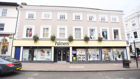 Palmers clothing shop in Bury St Edmunds closed in 2017 but there are now plans to turn it into two retail units with...