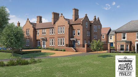 Rose Builders has been shortlisted as a finalist in a prestigious housebuilding award. Picture: Rose Builders