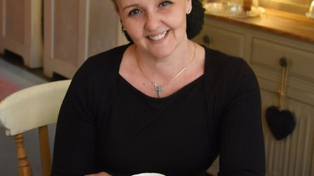 Amanda Richardson of the Strawberry Teapot Tea Room & Cakery in Sudbury, who is calling for people t