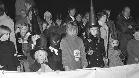 A Halloween party at Melton Grange in 1982 Picture: ARCHANT
