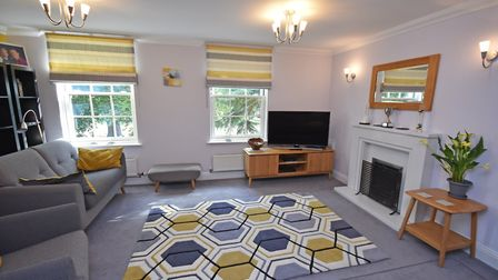 This modern townhouse at the St Mary's development in Ipswich is for sale at a guide price of £425,000. Picture: David...