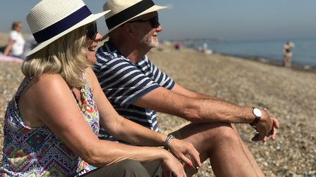 Tourists flocked to Suffolk's beaches over the summer Picture: Neil Didsbury