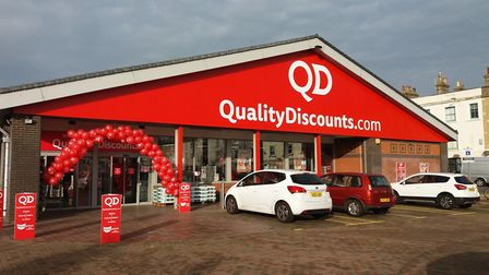 QD Group has announced it will be keeping its stores open during the second lockdown Picture: QD GROUP