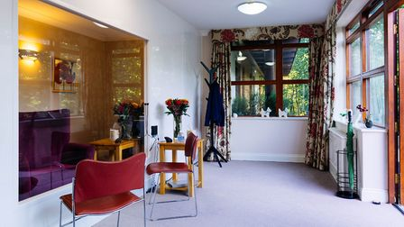 A new designated visiting room at Alice Grange Care Home in Kesgrave Picture: BARCHESTER HEALTHCARE