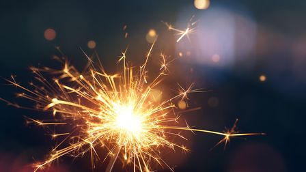 Sparklers need to be handled with care Picture GETTY IMAGES/ISTOCKPHOTO