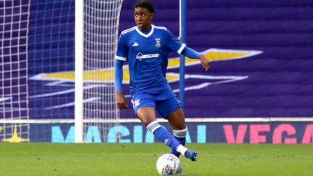 Tawanda Chirewa in action against Southend United in the FA Youth Cup Picture: Ross Halls