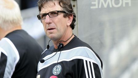 Paul Mariner during his time as Plymouth boss Picture: WARREN PAGE