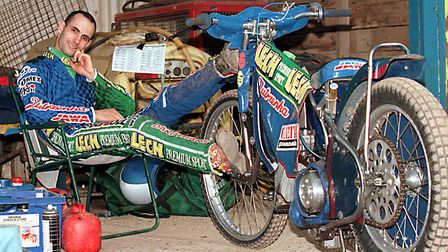 EASY RIDER: One of the most sensational signings of the 1990s came at Foxhall Heath, when Polish sup