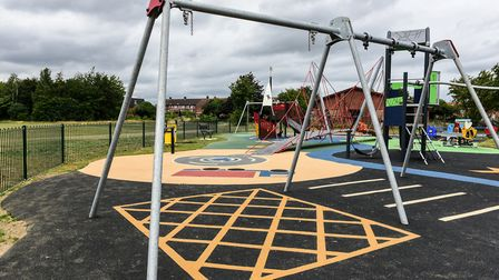 Councils have used the lockdown time to invest and refurbish in some parks and play areas, such as Dumbarton Road...