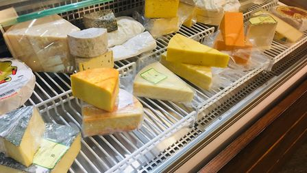 A growing selection of British and French cheeses is for sale at Fork Deli & Kitchen in Hadleigh Pi