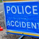 The crash happened on a north Suffolk road on Wednesday morning Picture: ARCHANT