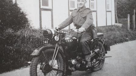 Doug Vince aged 16 as part of the Home Guard. Picture: DOUG VINCE