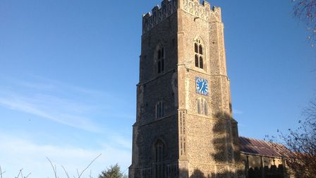 Kersey Church was a beacon for pilots during the second world war. Picture: RACHEL WELLS