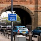 Blackwall Tunnel southern approach heading toward Poplar and east London. Stock picture: Google