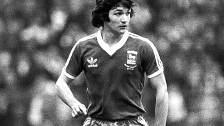 George Burley, a mainstay of Town's impressive defence during the glorious campaign of 1980-81
