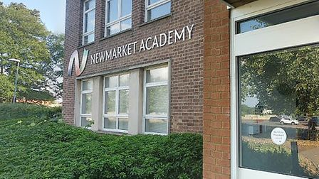 Three students and two staff members tested positive for coronavirus at Newmarket Academy Picture: G