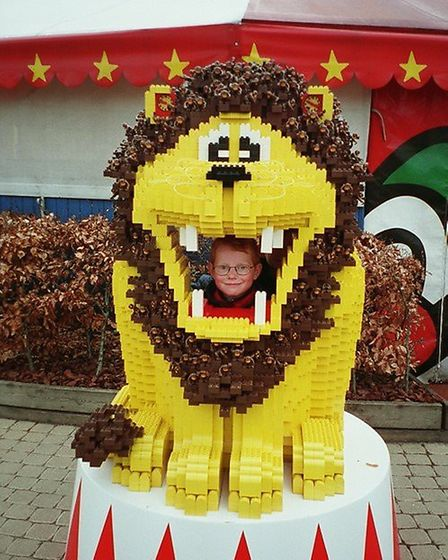 Ed Sheeran loved Lego as a youngster, and in his song Lego House, he uses it as a visual metaphor fo