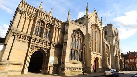 The second national lockdown has forced St Edmundsbury Cathedral to cancel its Christmas fair Picture: GREGG BROWN