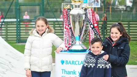 The Barclays Premier League Trophy visits South Town, Yarmouth.