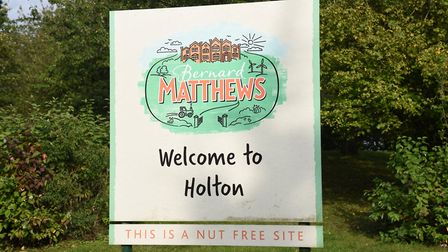 The Bernard Matthews site in Holton, where there was a coronavirus outbreak among staff Picture: CHARLOTTE BOND