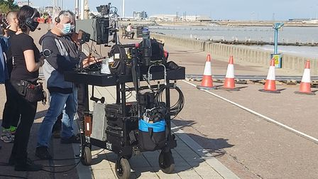 Covid-secure filming taking pace in Suffolk. Picture: SCREEN SUFFOLK