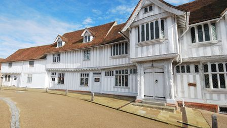 Lavenham Guildhall will be closed, but the tea room is open with the option to take-away or sit in the garden, the rest of...
