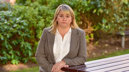 Corrie McKeague's family have applied for an inquest to be held. Pictured is his mother, Nicola Urquhart Picture: SARAH...