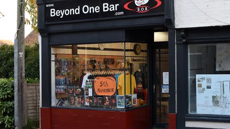Beyond One Bar was supposed to open on November 5 Picture: CHARLOTTE BOND